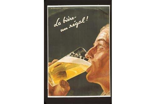 Das Bier als Geschenk (1947). (Bild: SBV)