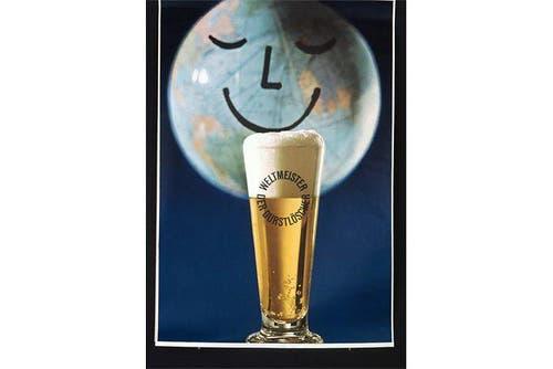Einfache Fotomontage mit dem «Weltmeister der Durstlöscher» im Mittelpunkt. (Bild: SBV)