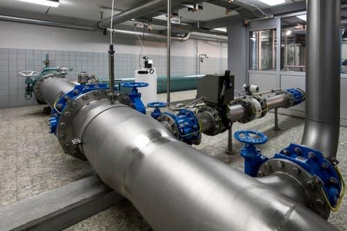 Die Wasserversorgung Emmen verfügt über ein Leitungsnetz von rund 130 Kilometer. (Bild: Pius Amrein (1. Mai 2018))