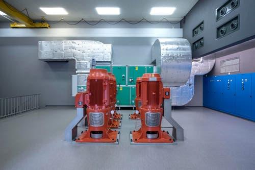 Jährlich fördern die Grundwasserpumpwerke Emmens rund 3.7 Millionen Kubikmeter Wasser. (Bild: Pius Amrein (1. Mai 2018))