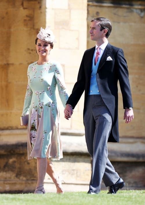 Pippa Middleton, die Schwester von Herzogin Kate und James Matthews. (Chris Jackson/pool photo via AP)