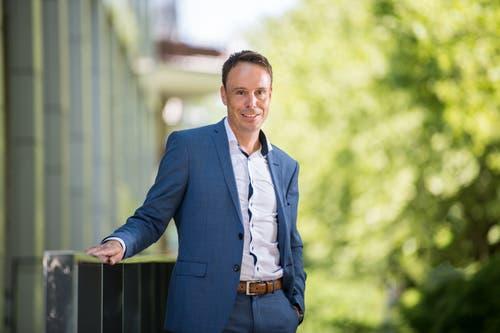 Ivan Buck, seit März Direktor der Wirtschaftsförderung des Kantons Luzern. (Bild: Eveline Beerkircher, 23. Mai 2018)