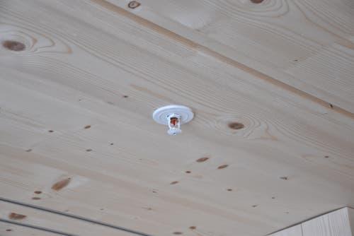 Die Sprinkler sind an allen Zimmerdecken angebracht worden, falls einmal ein Brand ausbrechen sollte. (Bild: Timon Kobelt)