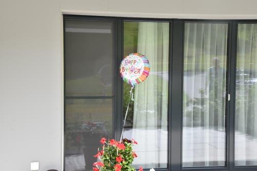 Ein Bewohner feiert seinen 100. Geburtstag. Dies soll auch erkenntlich sein. (Bild:Timon Kobelt)