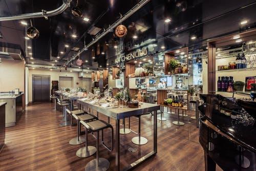 The Kitchen Club: Dinieren mitten in der Hotel-Küche. Bild: PD