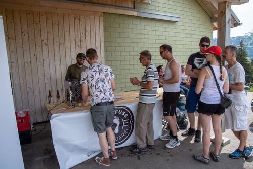 """Bei der """"Barfuss Brauerei"""" ist das IPA sehr beliebt. (Bild: PD)"""