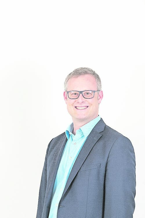 Auch Marcel Penn (CVP) ist neuer Ennetmooser Gemeinderat. (Bild:PD)