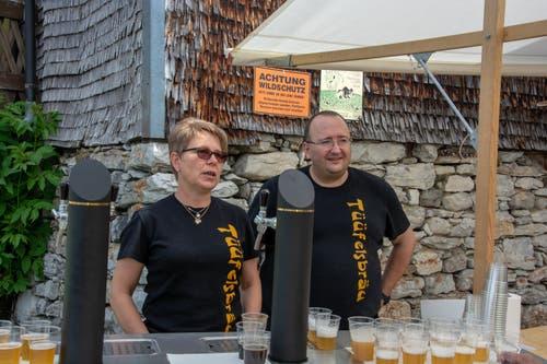 Die Brauerei Tüüfelsbräu aus Kirchberg ist der nächst Halt. (Bild: PD)