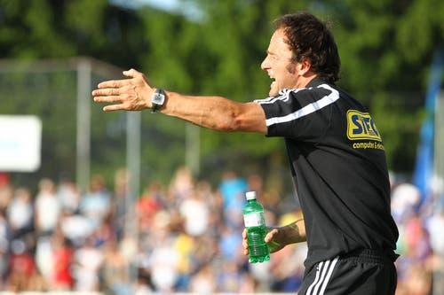 Christian Brand trainierte die Mannschaft nach der Entlassung von Rolf Fringer als Interimstrainer von Anfang Mai bis Ende Juni 2011. (Bild: Philipp Schmidli)