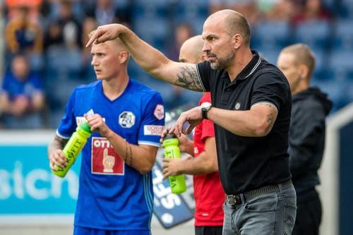Dann kam Markus Babbel mit einer ungewöhnlich langen Amtszeit: Der Deutsche trainierte die Mannschaft von Oktober 2014 bis Januar 2018. (Bild: Philipp Schmidli)