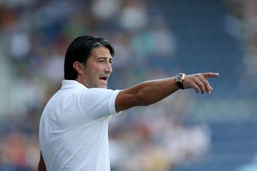 Nach Christian Brand übernahm Murat Yakin die Trainerposition. Da unter seiner Obhut die Erfolge der Mannschaft ausblieben, wurde er schon Ende August 2012 wieder freigestellt. (Bild: Philipp Schmidli)