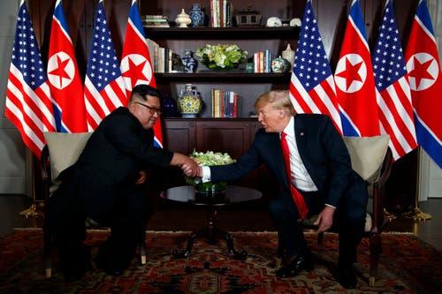 (Bild: AP Photo/Evan Vucci)