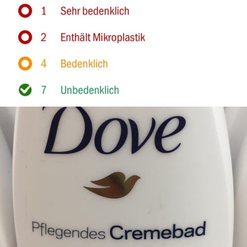 Dove, pflegendes Crèmebad