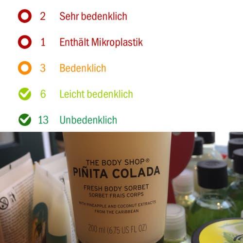 The Body Shop, Fresh Body Sorbet, Pinita Colada