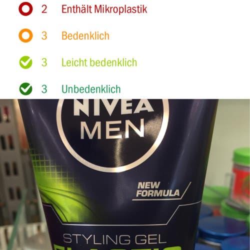 Nivea, Styling Gel Men
