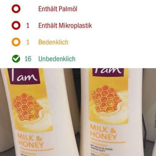 I am, Crèmebad, Milk & Honey