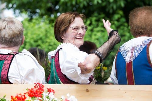 Festumzug am Jodlerfest Schötz. Im Bild Trachtengruppe Schötz. Bild: Manuela Jans-Koch. Schötz 24.Juni 218)