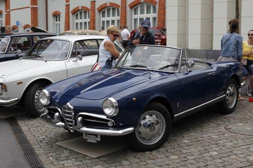 Impressionen vomAlfa-Romeo-Treffen in Altdorf. (Bild: Florian Arnold, 24. Juni 2018)