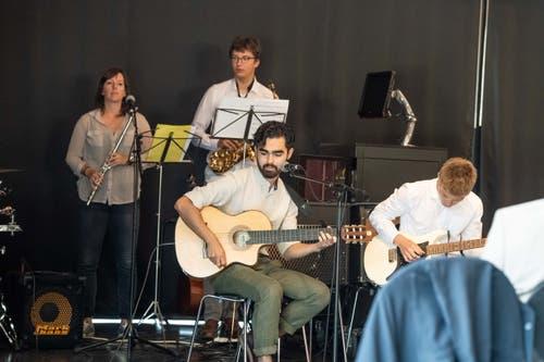 Die Band sorgte für den musikalischen Rahmen der Feier.