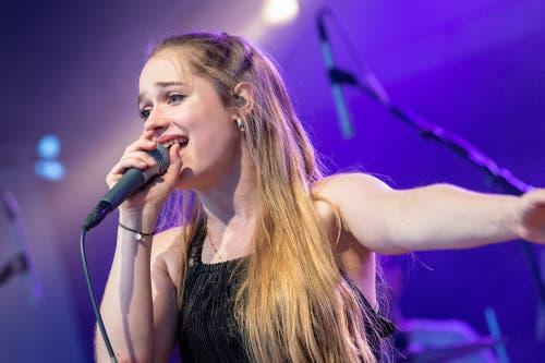 Die Sängerin von Mothership Caldonia (Bild: Christian H. Hildebrand, 23. Juni 2018).