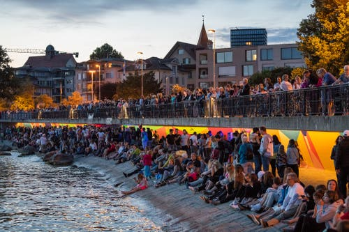 Die Katastrophenbucht wurde vom I45 zur Buchtbar verwandelt (Bild: Christian H. Hildebrand, 23. Juni 2018).