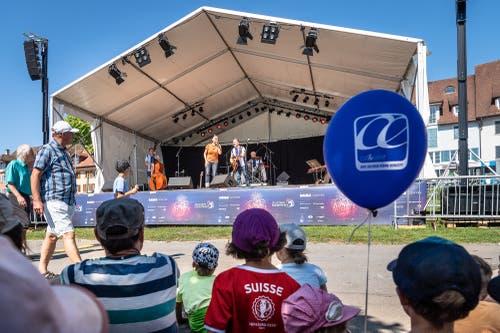 Die Band Staerne Foifi (Bild: Christian H. Hildebrand, 23. Juni 2018).