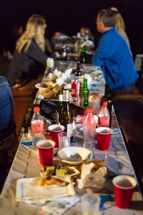 Das Fest neigt sich langsam dem Ende zu (Bild: Christian H. Hildebrand, 23. Juni 2018).