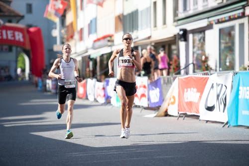 Susanne Rüegger ist die Siegerin der Frauen (Bild: Roger Grütter)
