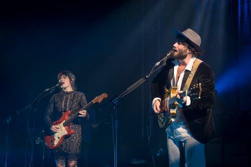 Angus und Julia Stone. (Bild: Urs Bucher)