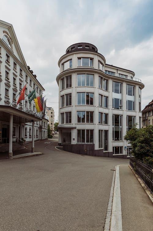 St. Gallen: Das Turmzimmer des Hotels Einstein bietet schöne Aussichten.