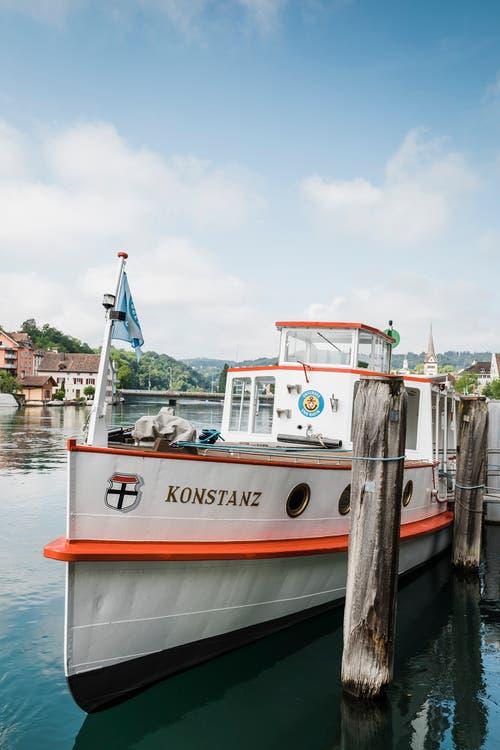 Schaffhausen: Hotelvergnügen auf dem Rheinschiff MS Konstanz.