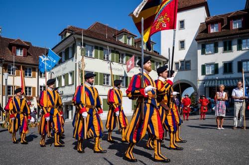 Impressionen von der Schlachtfeier Sempach. (Bild: Philipp Schmidli, 1. Juli 2018)