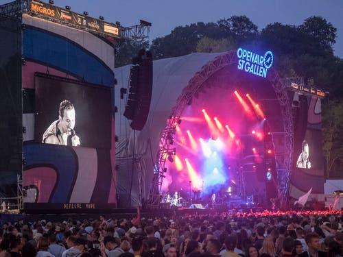 Depeche Mode, Bild: Hanspeter Schiess