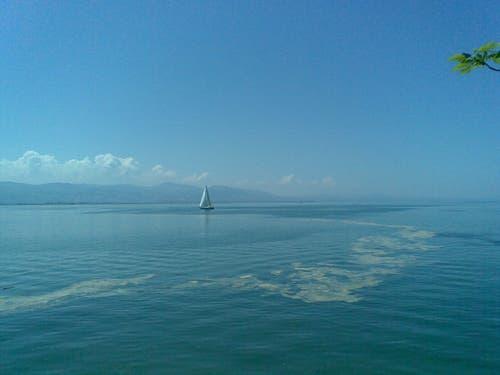 Blautöne über dem See bei Lindau. (Bild: Klaus Businger)