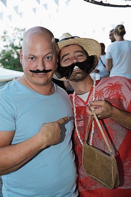 David Fritschy und Benjamin Langhart.