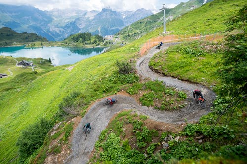 Am Samstag und Sonntag 14./15. Juli wurde der neue Bike Trail vom Jochpass nach Trübsee offiziell eröffnet.