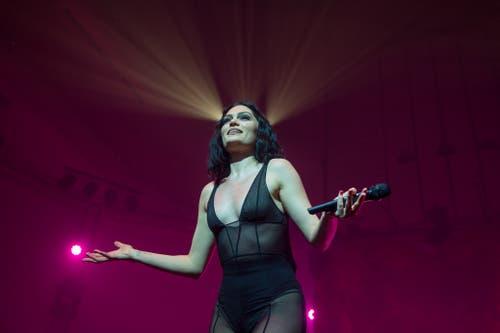 Jessie J. Bild: Dominik Wunderli (Luzern, 24. Juli 2018)