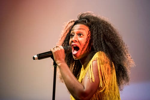 The British soul singer Beverley Knight at the Blue Balls Festival in Lucerne, Switzerland, Monday July 23, 2018. The music event runs from 20 to 28 July. (KEYSTONE/Urs Flueeler)