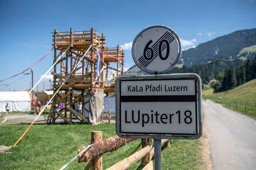 Das Kantonslager LUpiter18 in Escholzmatt gehört nach zwei Wochen der Geschichte an. (Bild: Pius Amrein. Escholzmatt, 27. Juli 2018)