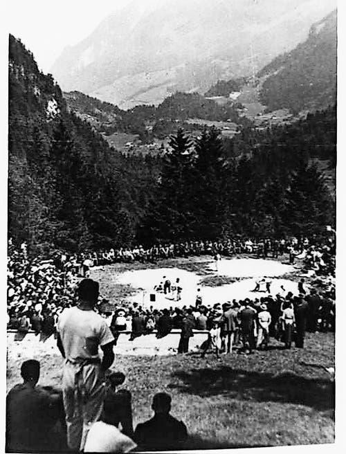 Ab 1916 fand das Fest am heutigen Standort statt. (Bild: PD)