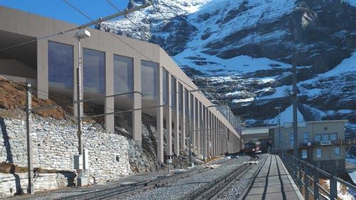Bergstation beim Eigergletscher (Visualisierung: PD)