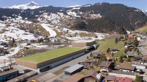 Die Talstationen in Grindelwald Grund (Visualisierung: PD)