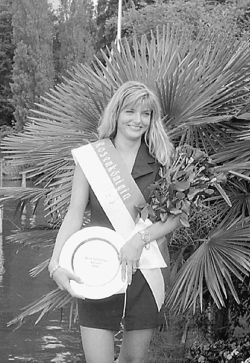 1996 wurde Claudia Müller Rosenkönigin.
