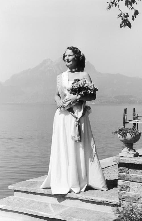 Rosenkönigin von 1950: Barbara Dreyer