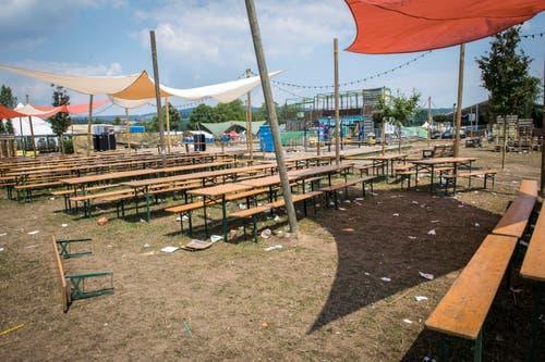 Das verlassene Open-Air-Gelände. (Bild: Reto Martin)