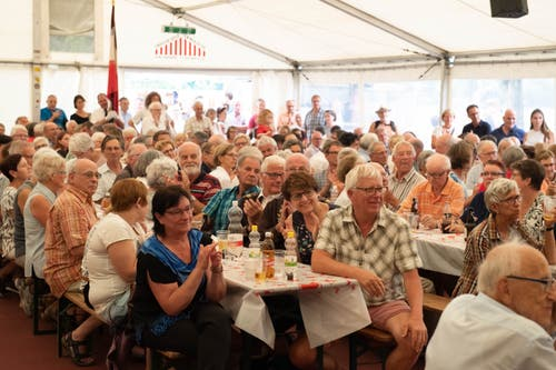 1. August Rede in Sarnen. (Bild: Izedin Arnautovic (Sarnen, 01. August 2018))