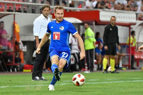 Christian Schwegler. (Bild: Martin Meienberger, Piräus, 9. August 2018)