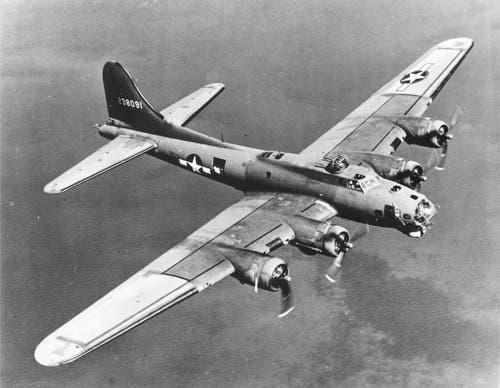 Boeing B-17G Flying Fortress: Das Flugzeug war robuster, widerstandsfähiger gegen Beschuss und einfacher zu fliegen als der B-24 Liberator. (Bild: US Air Force)