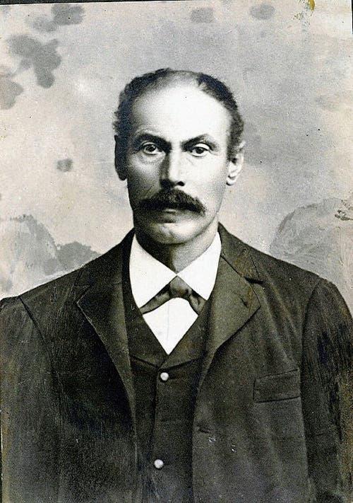 Josef Schöb führte bis 1915 das Restaurant.