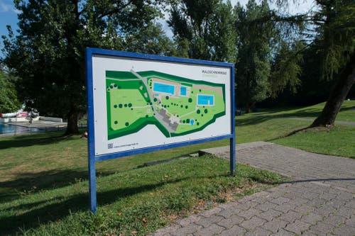 Der Luzerner Stadtrat will nun das Freibad zwischen 2021 und 2022 für 12,5 Millionen Franken sanieren, erneuern und von Altlasten befreien. (Bild: Dominik Wunderli, 17. August 2018)